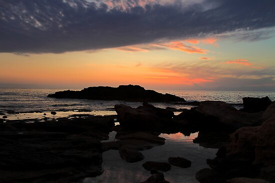 Mediterranean sunset in S. Marco Castellabate Italy by Eros Fiacconi (Sooboy)