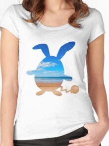 Azumarill used surf Women's Fitted Scoop T-Shirt