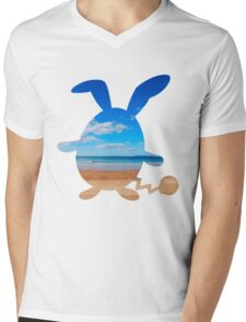 Azumarill used surf Mens V-Neck T-Shirt