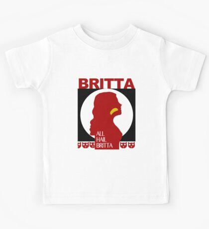 All Hail Britta! Kids Tee