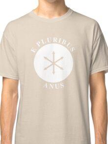 E PLURIBUS ANUS - Greendale Flag Classic T-Shirt