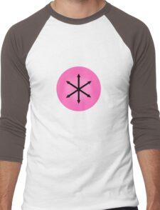 E PLURIBUS ANUS - Greendale Logo Men's Baseball ¾ T-Shirt