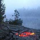 Campfire at First Light by Christopher Clark
