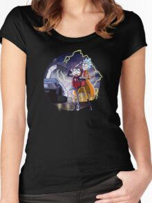 Rick n' Morty: To The Future Women's Fitted Scoop T-Shirt