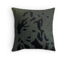 Sidewalk Art Throw Pillow