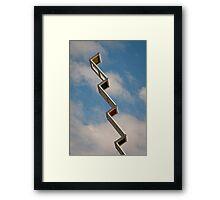 Sky Ladder Framed Print