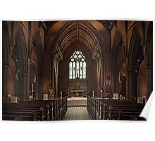 Ballarat Church Interior Poster