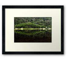 Tidal Mirror Framed Print