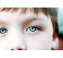 Eye Lashes Photographic Print