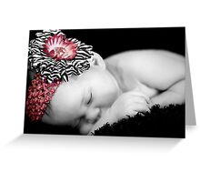 Sleeping Angel Greeting Card