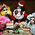 The Tea Party by PorcelainPoet