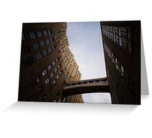 The Metropolitan Life Building Skyway Bridge  Greeting Card