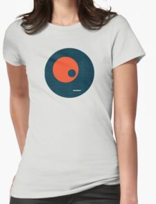 Modernist Circle Womens Fitted T-Shirt