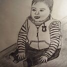 CARTERS BABY SKETCH FROM ART SCHOOL by TSykes