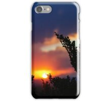 Sunset Sky by Z. Andrews Photography iPhone Case/Skin