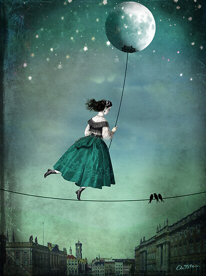 Moonwalk by Catrin Welz-Stein