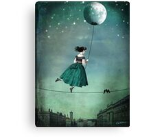 Moonwalk Canvas Print