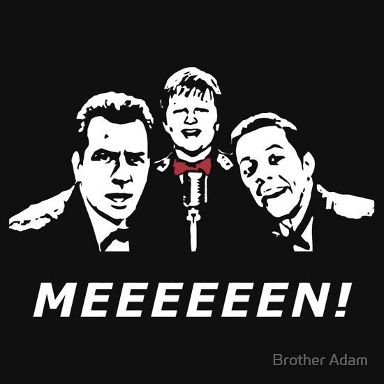 TShirtGifter presents: Two and a Half Men - Charlie Sheen & Co