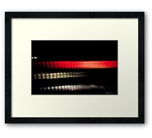 Cylon Heart Framed Print