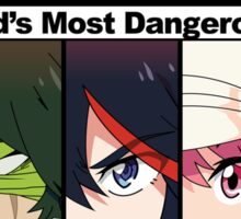 NWA- The world's most dangerous group (Kill la Kill) with color Sticker