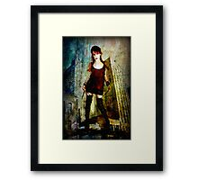 Boots that Quit Framed Print