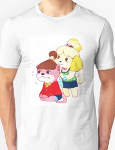 Animal Crossing - Isabelle and Lottie T-Shirt