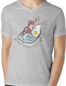 Bacon & Egg Mens V-Neck T-Shirt
