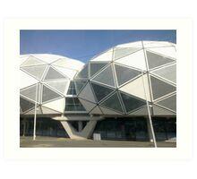 Aami Stadium Art Print