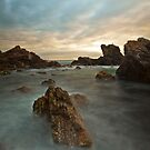 Sunrise over Burgess Beach by John Morton