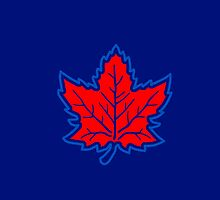 Vintage Retro Canadian Style Maple Leaf Symbol by Garaga