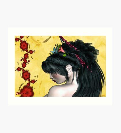 Modern Geisha Art Print