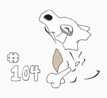 Pokemon 104 Cubone Kids Clothes