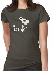 Pokemon 104 Cubone Womens Fitted T-Shirt