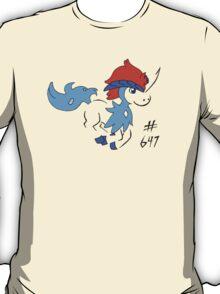 Pokemon 647 Keldeo T-Shirt