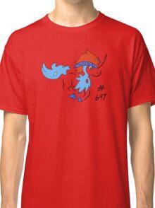 Pokemon 647 Keldeo Classic T-Shirt