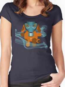 DOG 7 (TOXIC TIME) Women's Fitted Scoop T-Shirt