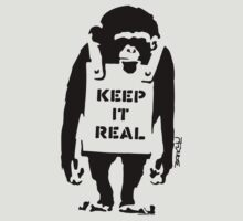 Banksy - Keep It Real by stabilitees