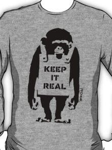 Banksy - Keep It Real T-Shirt