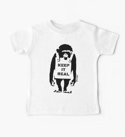 Banksy - Keep It Real Baby Tee