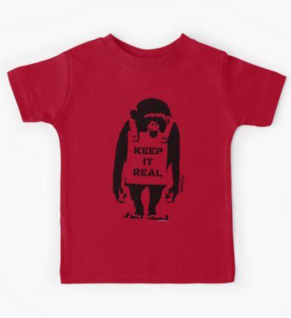 Banksy - Keep It Real Kids Tee