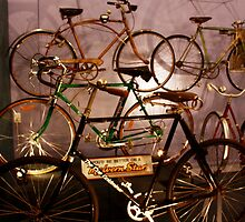 A timeline of bicycles by myraj