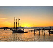 Sunrise Bar Harbor Photographic Print