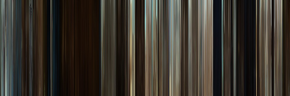 Moviebarcode: Where the Wild Things Are (2009) by moviebarcode