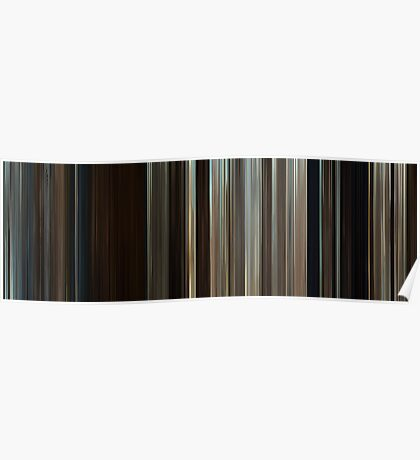 Moviebarcode: Where the Wild Things Are (2009) Poster