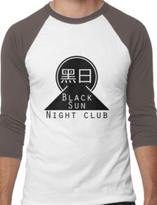 Black Sun Night Club Men's Baseball ¾ T-Shirt