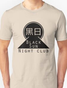 Black Sun Night Club T-Shirt