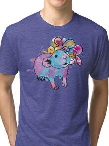 Watercolour Rattie Tri-blend T-Shirt