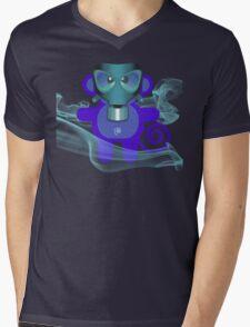 MUNKEY 7 (TOXIC TIME) Mens V-Neck T-Shirt