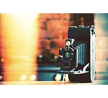 vintage camera. Photographic Print