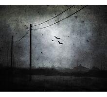 Descending Darkness Photographic Print